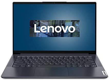 Lenovo Yoga Slim 7 Laptop 35,6 cm | 14 Zoll | Intel Core i7-1065G7 | 512GB SSD | 16GB RAM | NVIDIA GeForce MX350 | Windows 10 Home | grau