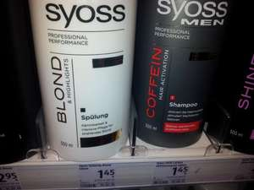 offline [lokal nrw unna/werl] DM Drogeriemarkt  Shampoo/Spülung Syoss, Frank Provost & Wella Proseries