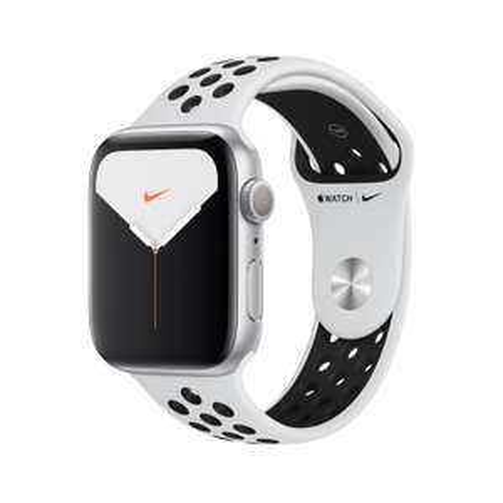 APPLE Watch Nike Series 5 44mm Smartwatch Aluminium, weiß [eBay MediaMarkt]