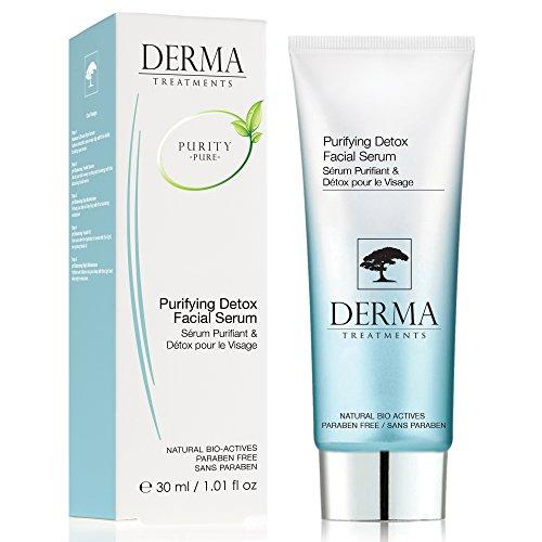 DERMA TREATMENTS Gesichts-Feuchtigkeitspflege Purifying Detox 30ml für 6,56€