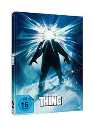 John Carpenter's THE THING - 3-Disc-Mediabook Edition Blu-ray