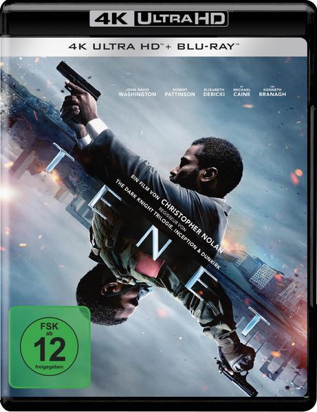 Tenet (4K Ultra HD) (+ Blu-ray 2D) Vorbestellung für den 17.12.2020