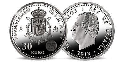 30 Euro Silber Münze für  ca.32€