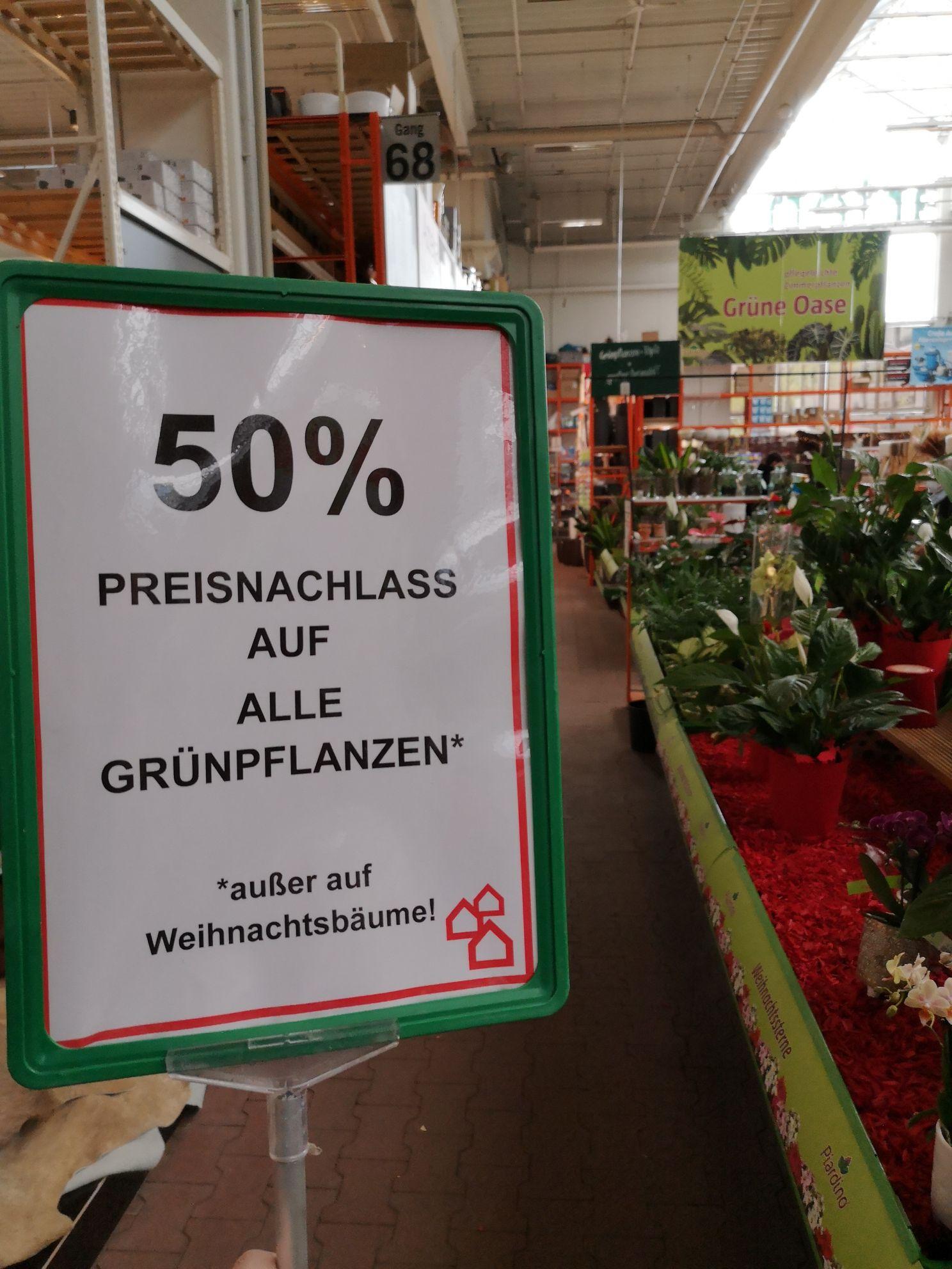 Bauhaus 50% auf alle Pflanzen (evtl. Deutschlandweit)