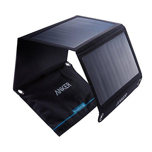 [Amazon] Anker PowerPort Solar Ladegerät 21W 2-Port