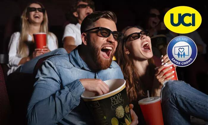 UCI Kino Gutscheine (2D): 2 für 14,50€ / 5 für 34,50€ / 10 für 68€ (bis 13.12.2021 gültig)