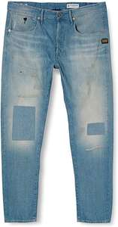 G-STAR RAW Herren Jeans Loic Relaxed Tapered Blue Restored und andere Herren Jeans