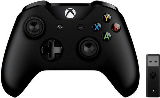 Xbox One Wireless Controller + Adapter Windows PC