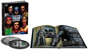 [Prime] Justice League als Digibook (Limited Edition) (4K Ultra HD + 2D Blu-ray)