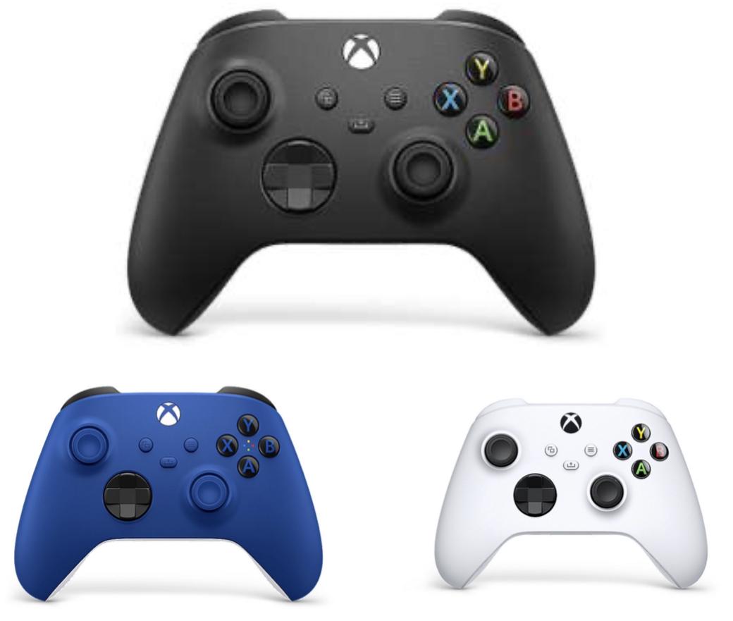 Microsoft Xbox Wireless Controller 2020 Carbon Black, Blue, White für je 45,99€ inkl. Versandkosten mit Füllartikel