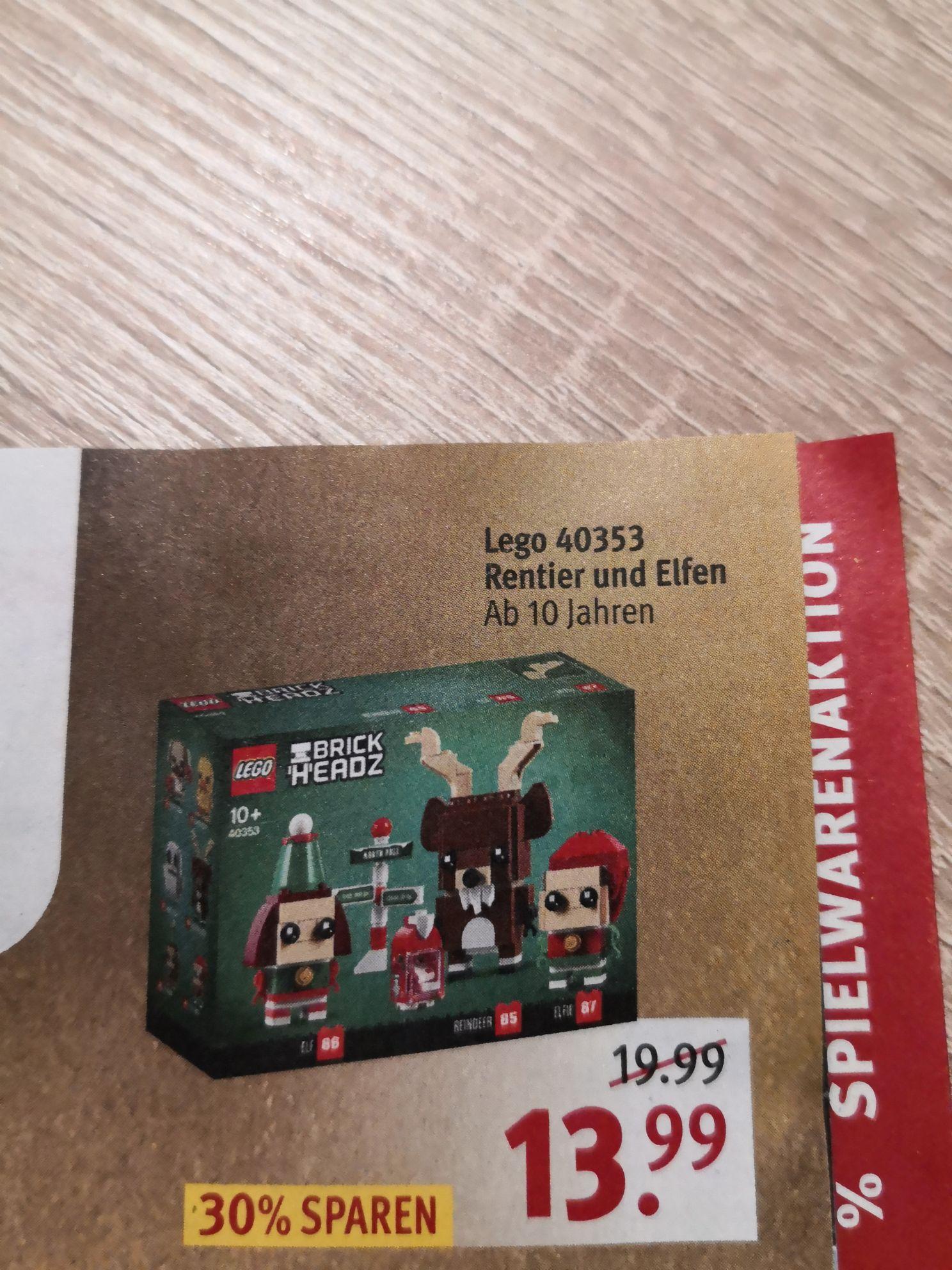 Lego 40353 Rentier und Elfen, rossmann