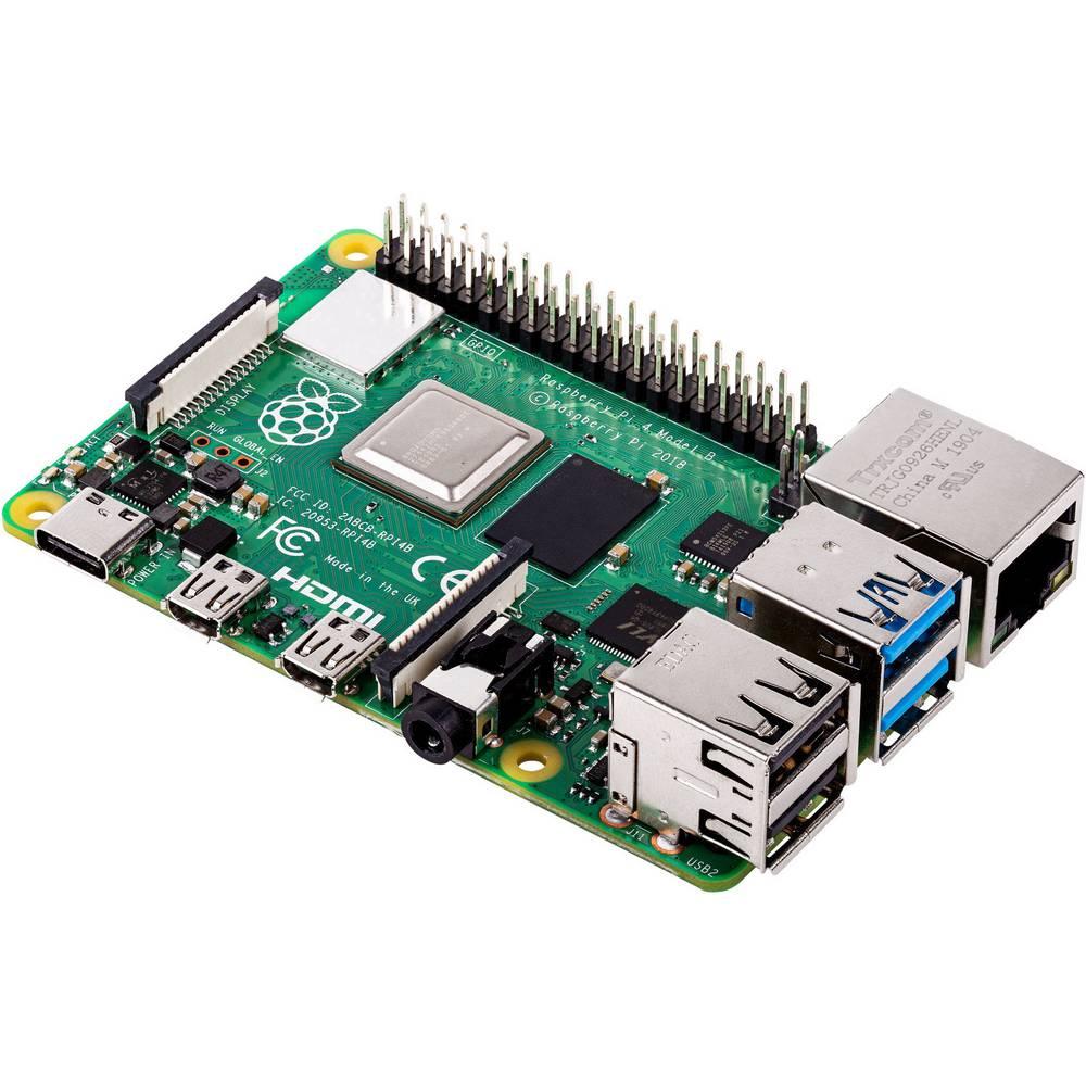 Raspberry Pi 4 Model B 4GB für 52,38€ inkl. Versandkosten