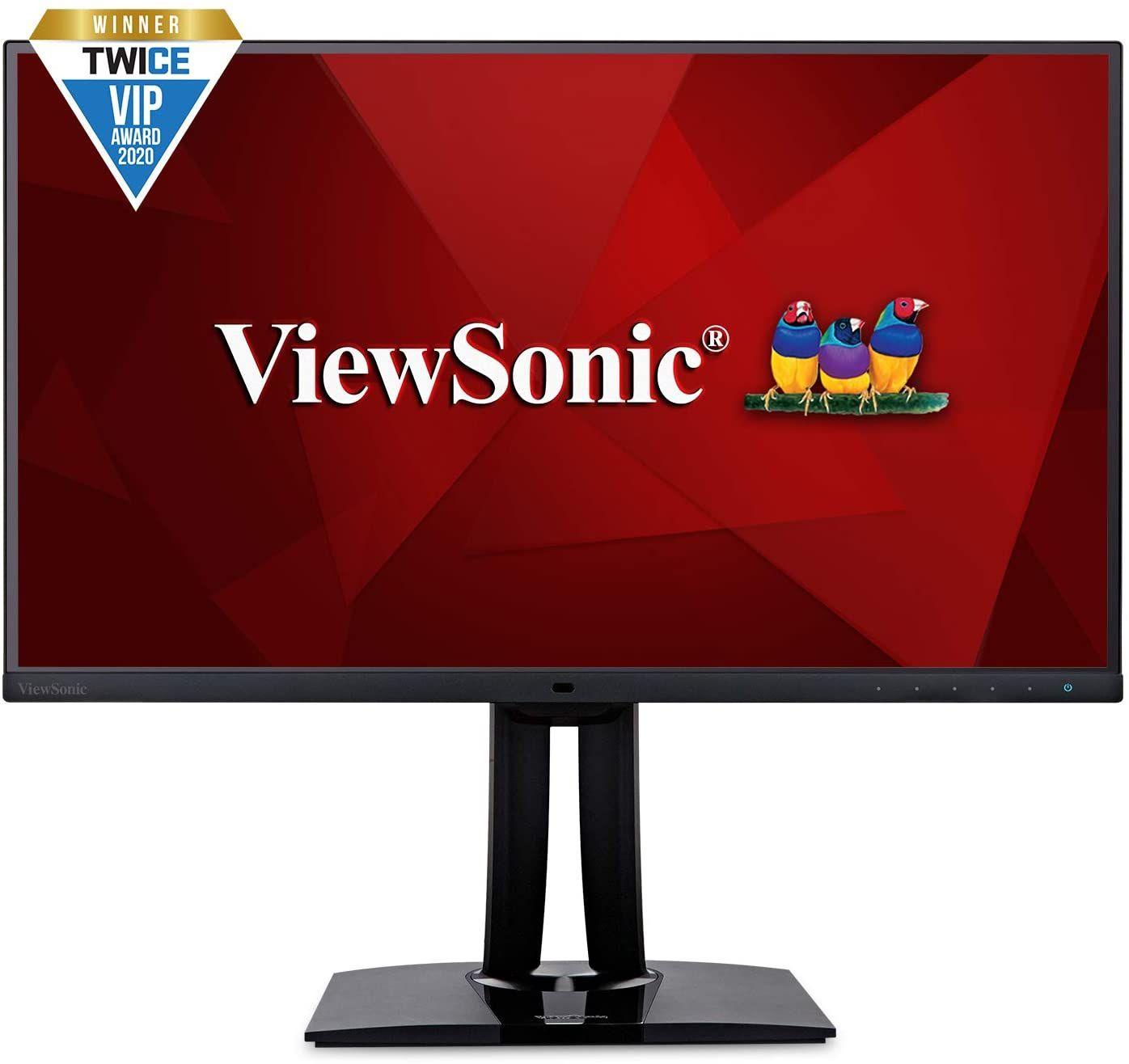 Viewsonic VP2785-2K 68,6 cm (27 Zoll) Fotografen Monitor mit Kalibrierfunktion (WQHD, IPS-Panel mit Delta E<2, 100 Prozent AdobeRGB,
