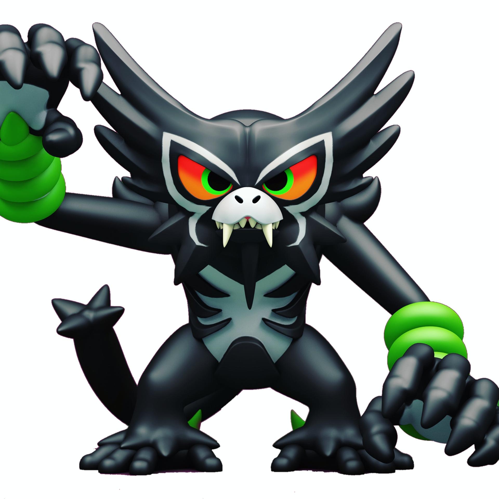 Zarude (Typ: Unlicht + Pflanze) für Pokemon Schwert und Schild