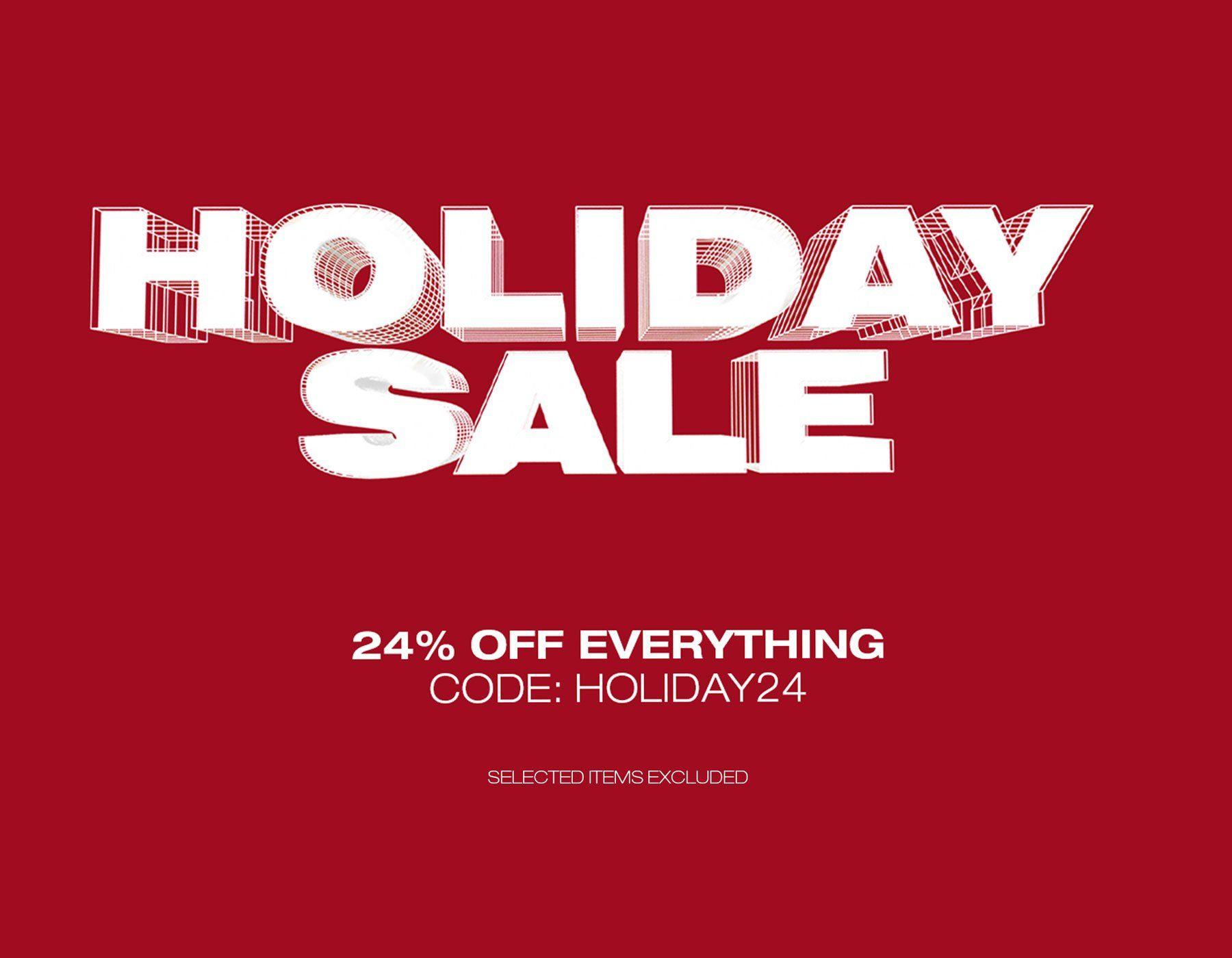 24% auf fast ALLES im Solebox Holiday Sale