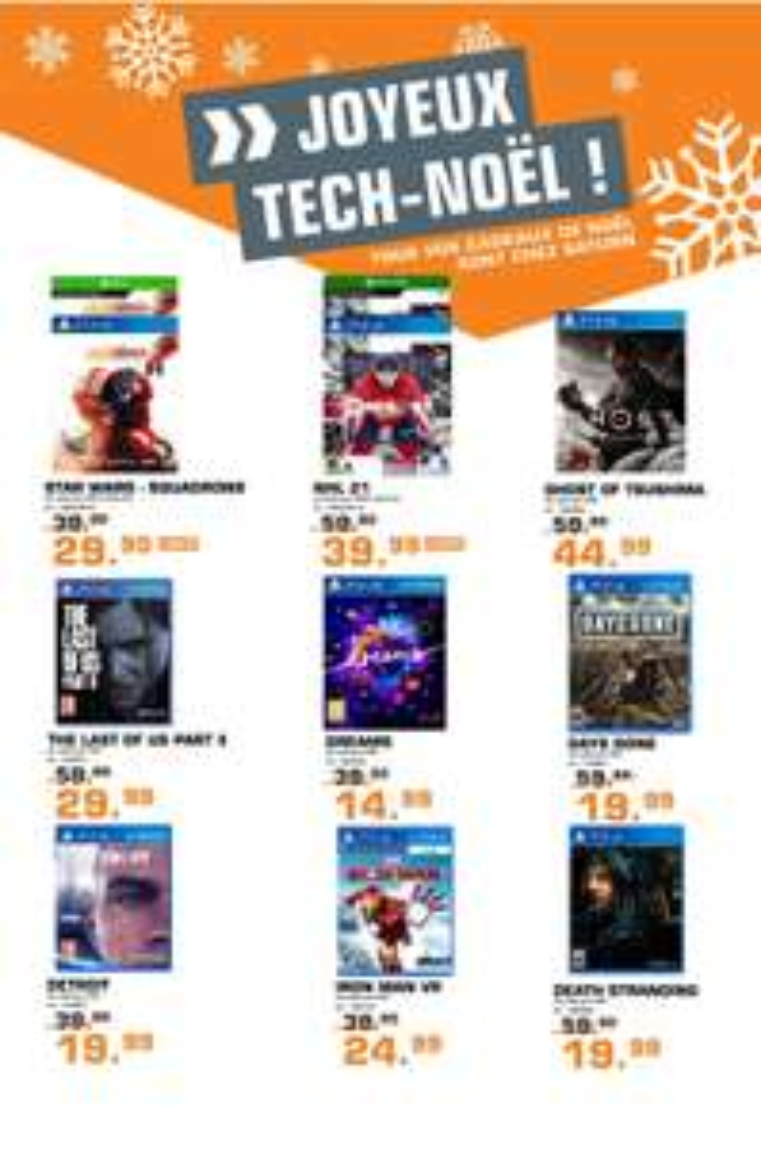 Diverse Spiele für PS4, XBOX One oder Switch: z.B. The last of us 2, Crash Bandicoot oder die PS Hits - für Grenzgänger Luxemburg