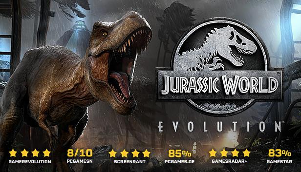 Jurassic World Evolution Deluxe für 4,99€ bei Steam