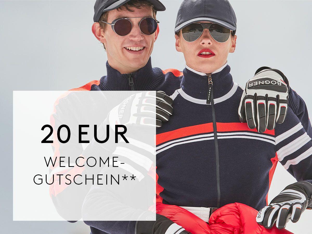 20 € Bogner Gutschein bei Newsletter Anmeldung