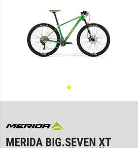 "Merida Big Seven XT Carbon (2017) Hardtail Größe XS 13,5"" mit Fox Float 32 Gabel"