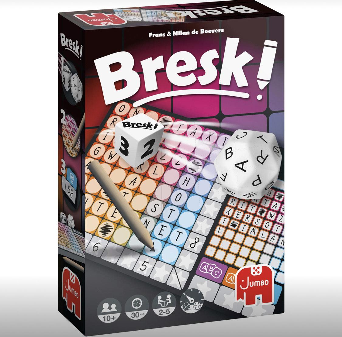 Amazon Prime / Bresk! von Jumbo / Gesellschaftsspiel