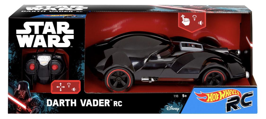 Amazon Prime / Hot Wheels FBW75 Star Wars Darth Vader RC Fahrzeug mit Lights und Sounds