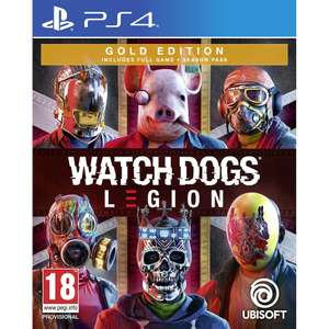 PS4 Watch Dogs Legion Gold Edition