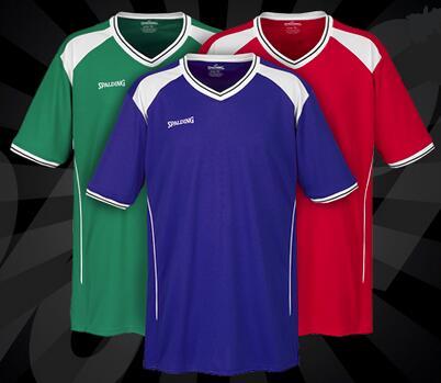 "Spalding Basketball Trikot ""Crossover Shooting Shirt"" für 3,33€ + 3,95€ VSK (Größe S - XL, + Kindergrößen) [SportSpar]"
