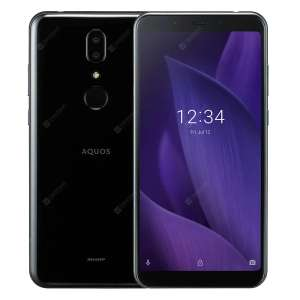 "Sharp Aquos V (5.9"", 2160x1080, IPS, SD835, 4/64GB + microSD, USB-C, Klinke, kein NFC, Fingerprint hinten, 3160mAh, 173g, Android 9)"