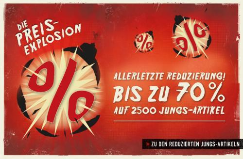 Titus Preisexplosion bis zu 70% reduziert + Gutschein (10%)