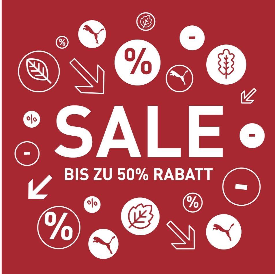 Puma: Bis zu 50 % Rabatt im End of Season Sale