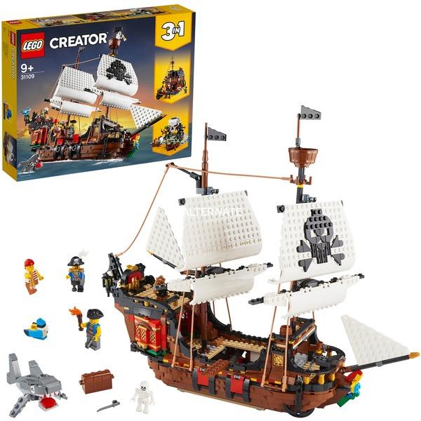 LEGO 31109 Creator Piratenschiff, Konstruktionsspielzeug