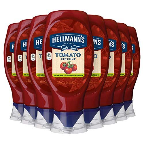 [Amazon Prime] Hellmann's Tomato Ketchup, 8 x 430 ml für 10,54€ (1,32€ je Flasche) Sparabo 9,49€ (1,19 je Flasche)