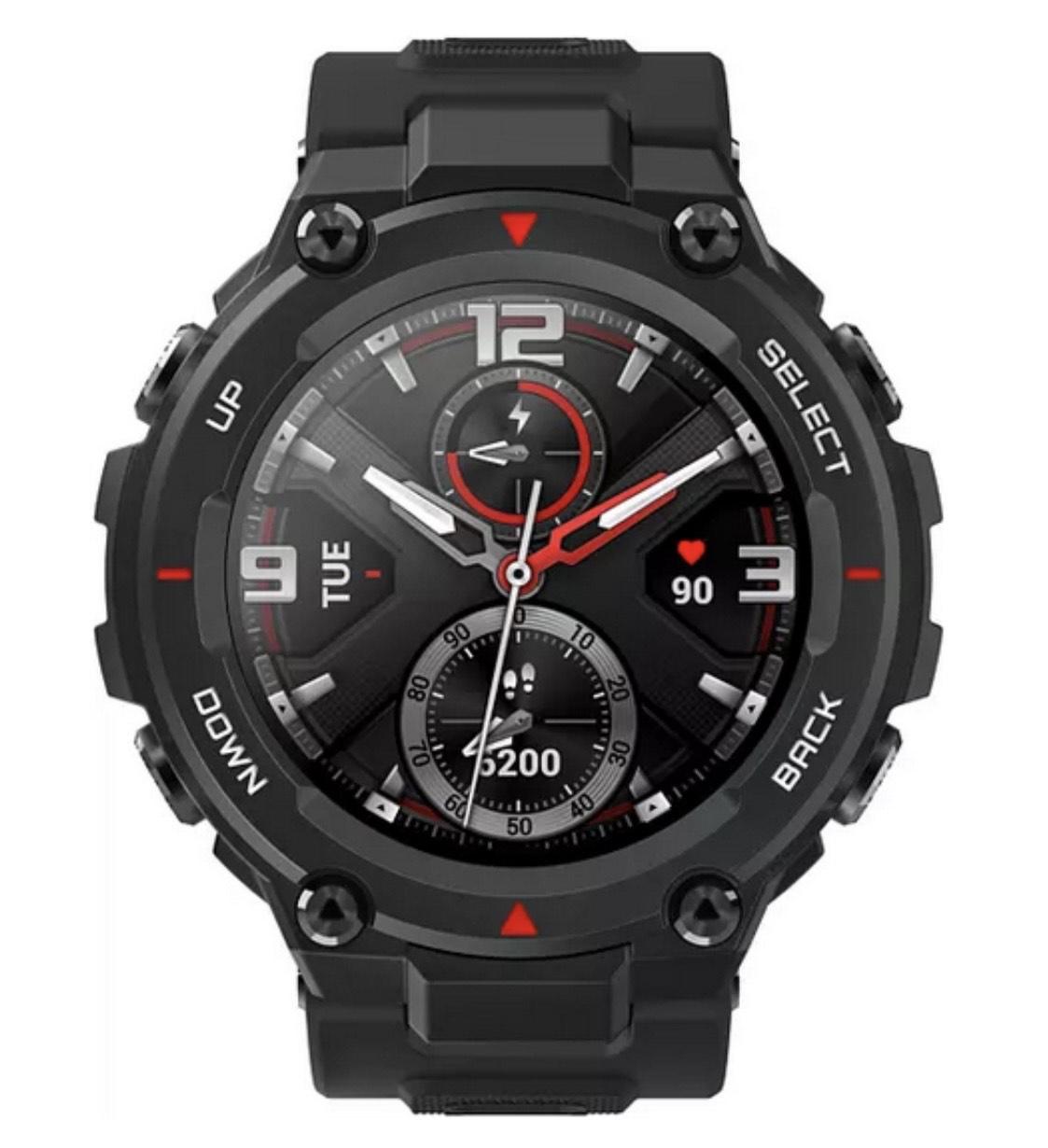 [dasHandy.de]Amazfit T-Rex Outdoor-Sport-Smartwatch in Schwarz (Preis wie BF BF)