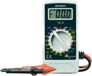 Voltcraft Multimeter Batterietester + IR-Thermometer [ohne Qipu 16,94]