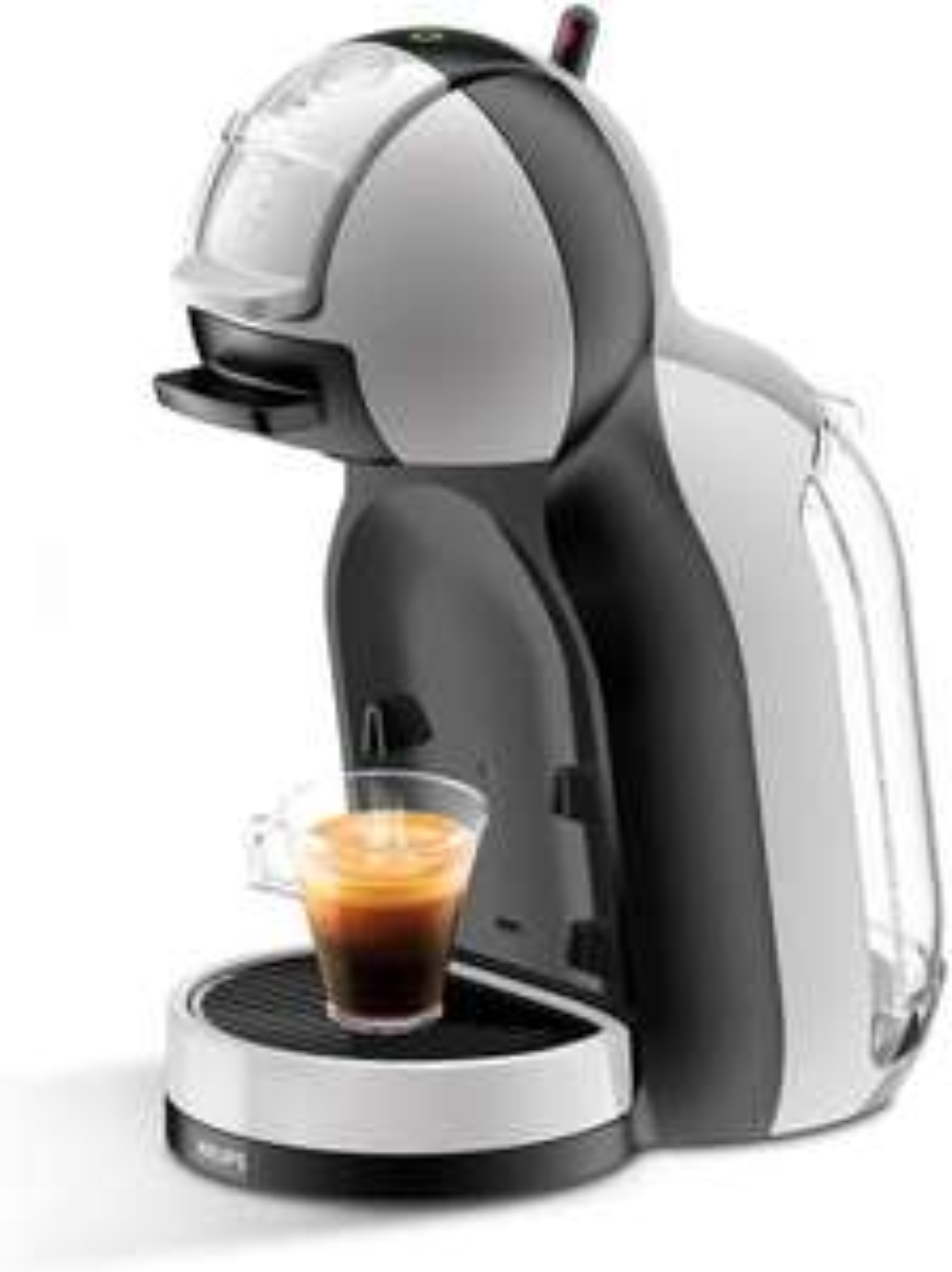 Krups KP123B Nescafé Dolce Gusto Mini Me Kaffeekapselmaschine, 1500 Watt, artic-grey/schwarz [Amazon]