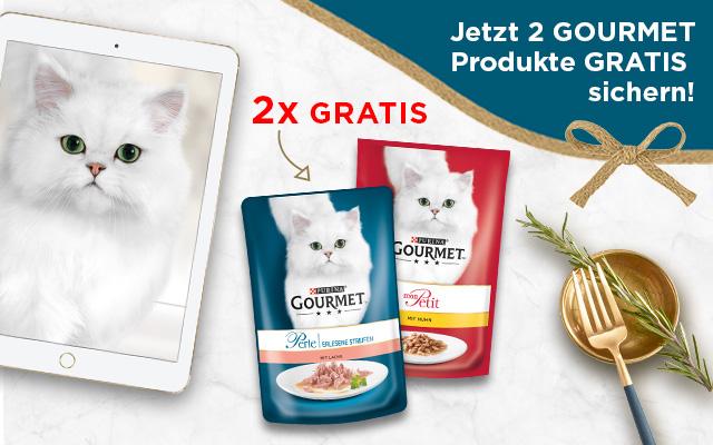 [Purina] [Freebie] 2x Purina Gourmet Gratis Testen - Lieferung erfolgt nach Hause ...