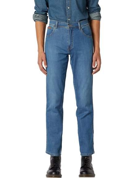 10% Extrarabatt auf viele Jeans im Denim Outlet bei Jeans-direct - z.B. Wrangler Herren Jeans Texas Stretch Regular Fit für 37,34€