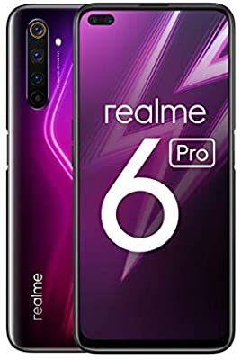 """[Amazon WHD] Realme 6 Pro Rot (6,6"""" 90 Hz FHD+ LC Display, SD 720G, 64 MP Quad Kamera, 30W Schnellladen) """"Gebraucht - Wie Neu"""""""