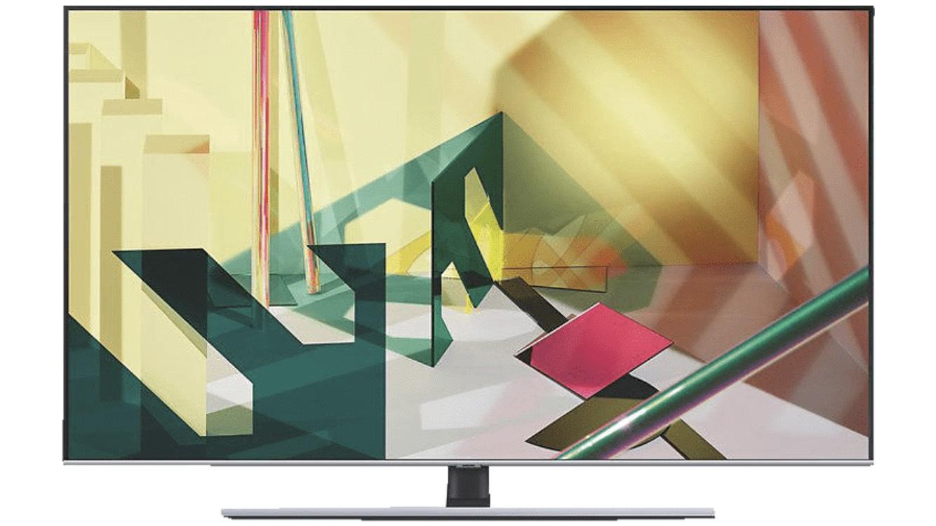 SAMSUNG GQ55Q77T QLED TV (Flat, 55 Zoll / 138 cm, UHD 4K, SMART TV)