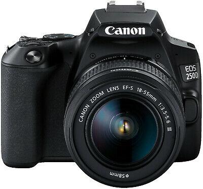 [eBay/Saturn] CANON EOS 250D Kit Spiegelreflexkamera, Doublezoom-Kit und Kit