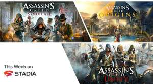 [Stadia] Assassin's Creed Origins, Unity oder Syndicate