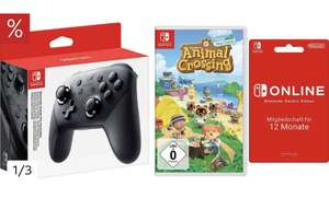 Otto : Switch »Pro« Controller (inkl. Animal Crossing und Nintendo Switch Online)