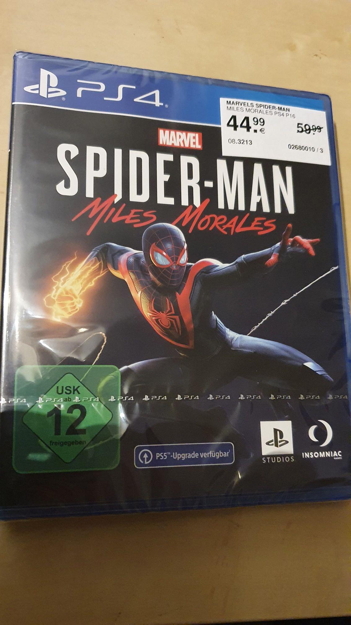 (Lokal Bielefeld) Marvels: Spider-Man: Miles Morales (PS4)