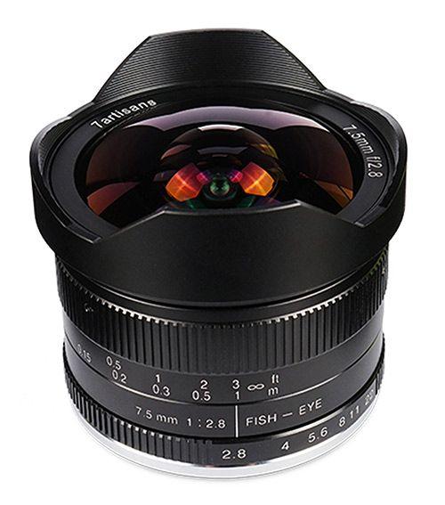 7artisans 7.5mm F2.8 APS-C Wide-angle Fisheye Fixed Lens X Mount