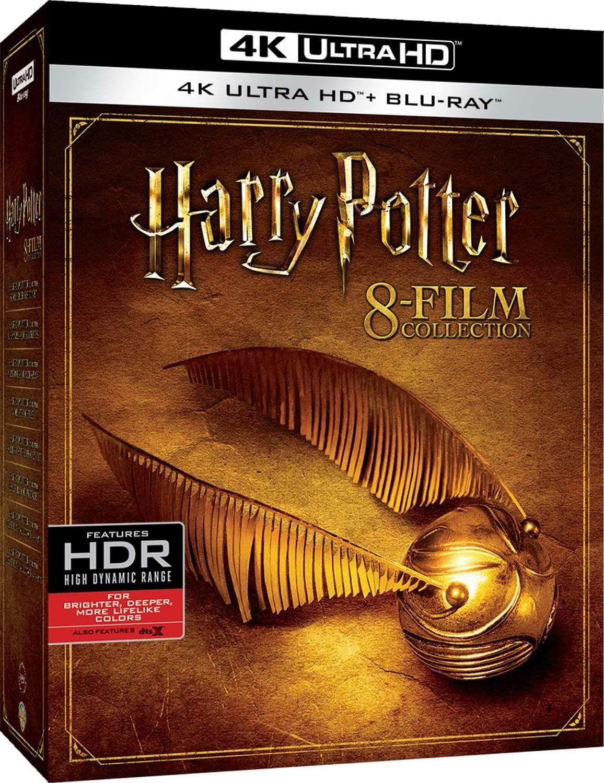 Harry Potter 4K Complete Collection (16-Disc Set - 4K UHD + Blu-ray) für 54.46€ (Amazon.it)