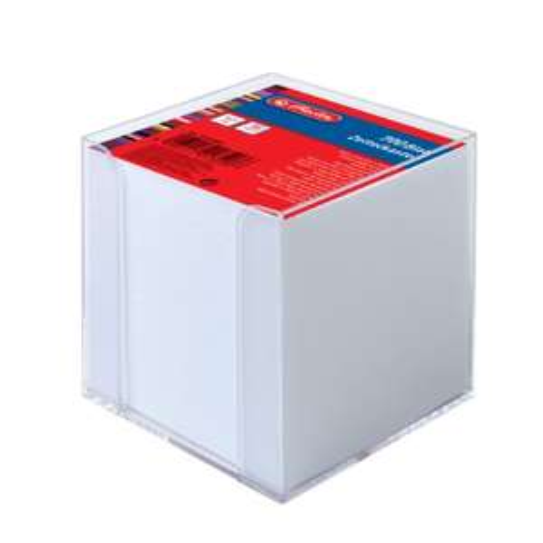 [Amazon PRIME] Herlitz Zettelkasten transparent 700 Blatt gefüllt 9x9x9cm