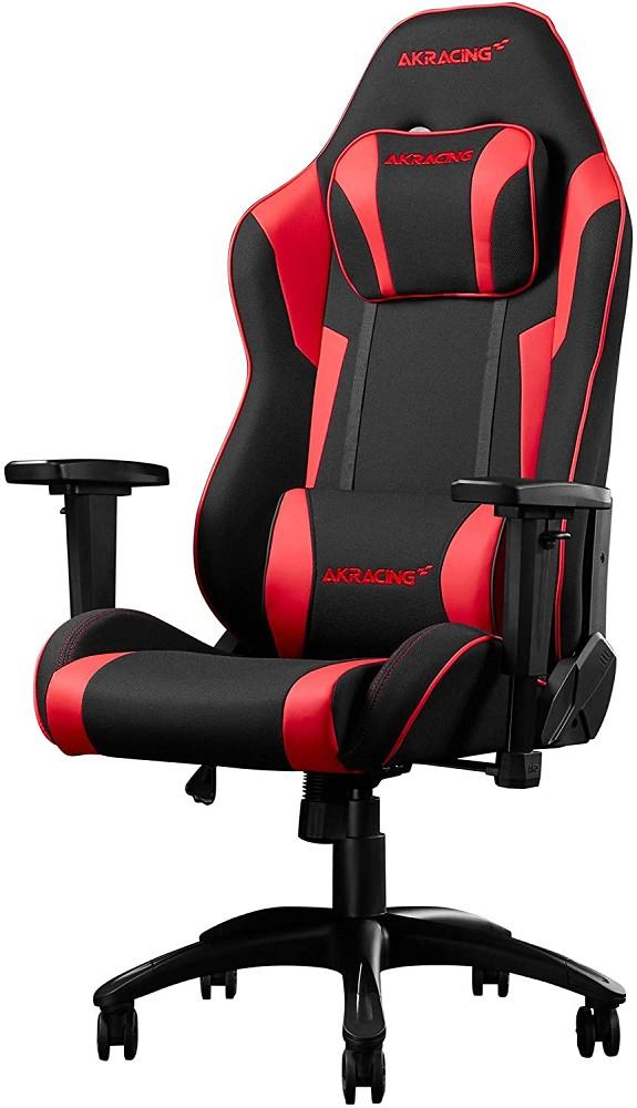 AKRacing Chair Core EXSE Gaming Stuhl Stoff/Kunstleder Rot bis 150kg