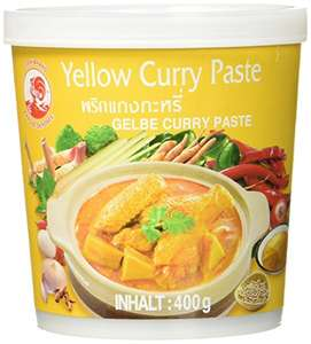 Amazon Cock Currypaste milde Schärfe gelb 4 Stück statt 1 (1-2 Monate Versandfertig)