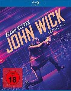 John Wick: Kapitel 1-3 Box (Uncut Kinofassung) (3 Blu-ray) (Amazon / Saturn)