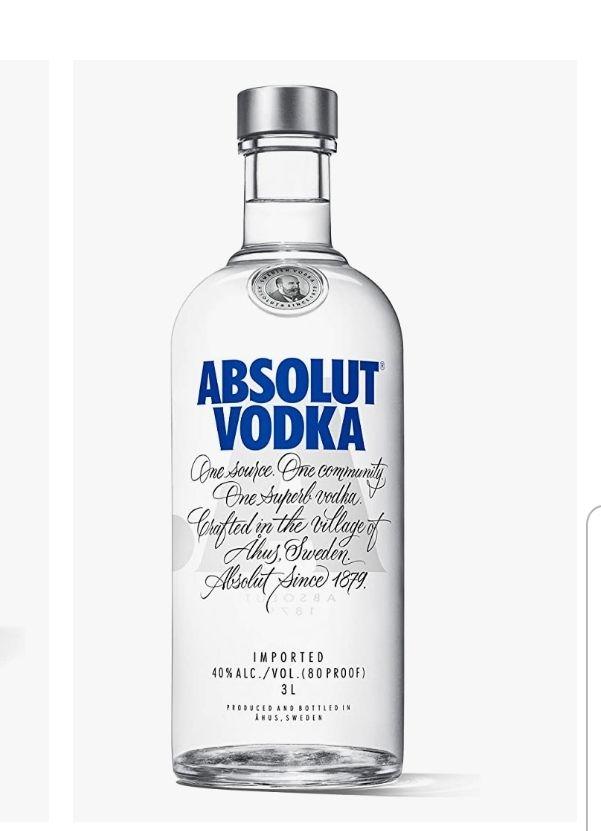 "Amazon Sammeldeal Spirituosen ""Lieblinge"" z.B. ABSOLUT Wodka 3L"